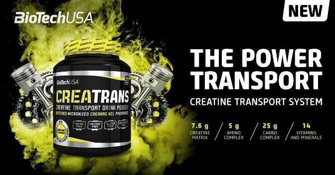 Biotech USA - Κρεατίνες - CreaTrans 1000 gr