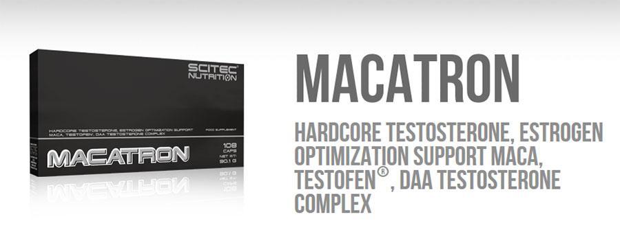 Scitec Nutrition - Αύξηση Τεστοστερόνης & Tribulus - Macatron 108 caps