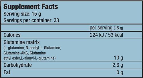 Biotech USA - L-Glutamine - Glutanator 500 gr