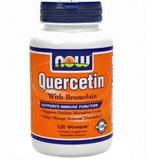 NOW - Quercetin with Bromelain - 120 caps