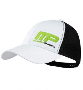 muscle-pharm-hat-flatbrim-flagship-white-black