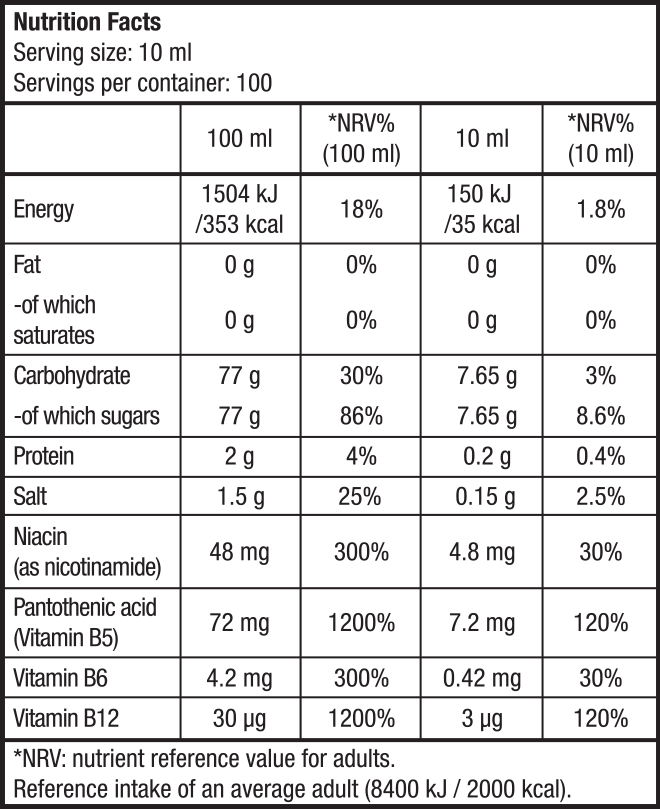 Biotech USA - Ισοτονικά ποτά - Ροφήματα - Multi Hypotonic Drink 1000 ml (1:65)