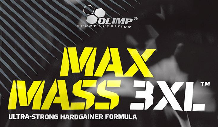 Olimp Sport Nutrition - Πρωτεΐνες - Max Mass 3XL 6000 gr