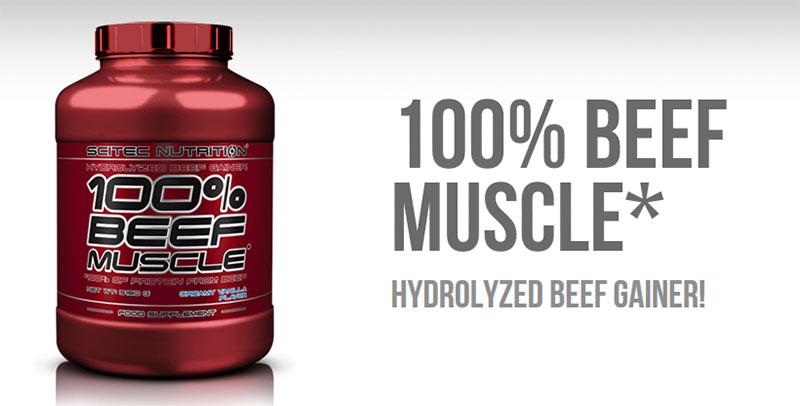 Scitec Nutrition - Beef Protein - 100% Beef Muscle 3180 gr