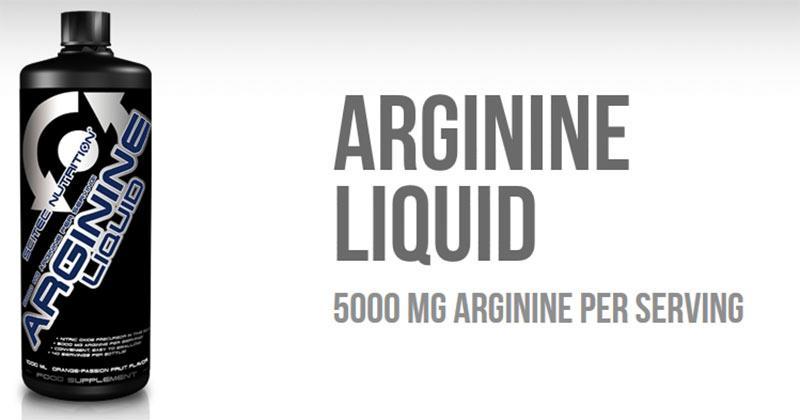 Купить Scitec Nutrition Arginine Liquid (1000 мл) аминокислоты в Киеве с доставкой по всей Украине. Как принимать Arginine Liquid (1000 мл), цена и отзывы - Arginine Liquid (1000 мл) от Scitec Nutrition - Bodybuilding.ua