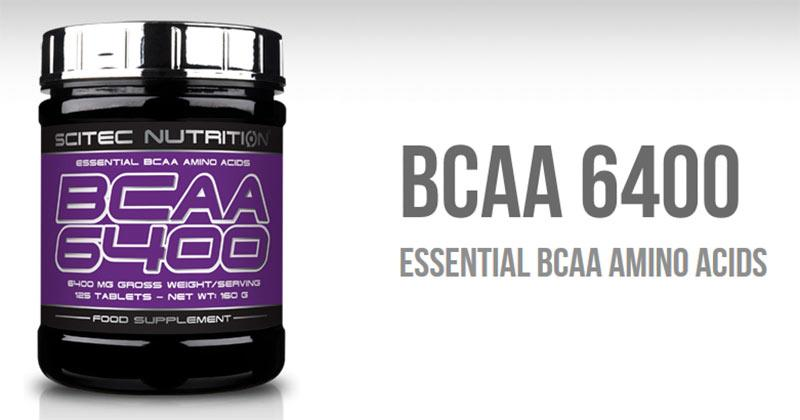 Scitec Nutrition - Αμινοξέα BCAA's - BCAA 6400, 375 tablets