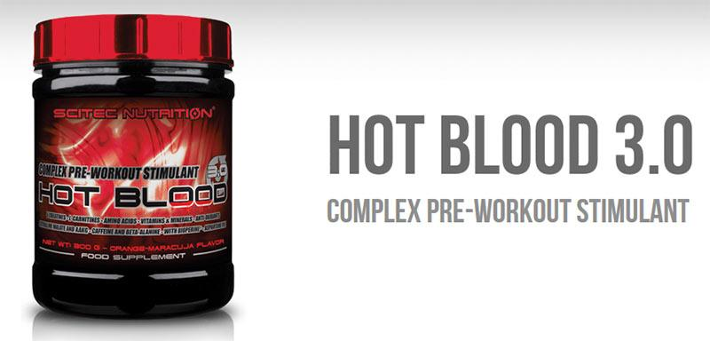 Scitec Nutrition - Νιτρικά Οξείδια - Nitric Oxide - Hot Blood 3.0 820 gr