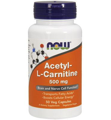 Acetyl L-Carnitine 500 mg 50 caps