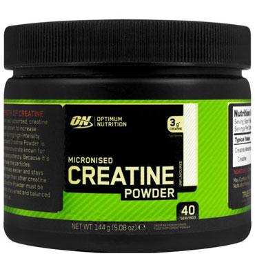 Micronized Creatine Powder 144 gr (40 serv)