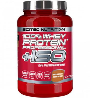 100% Whey Protein Professional +ISO 870 gr Strawberry