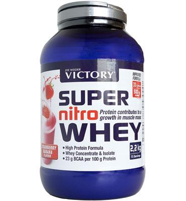 Super Nitro Whey 2,2 kg Strawberry Banana