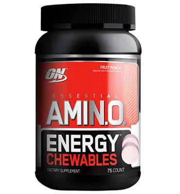 Amino Energy Chewables 75 tablets Fruit Punch