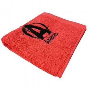 Animal-Workout-Towel-Red