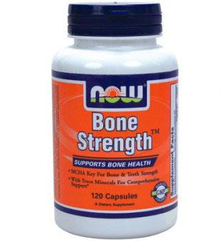 NOW - BONE STRENGTH 120 caps.