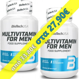 BioTechUSA-2-x-Multivitamin-For-Men-New