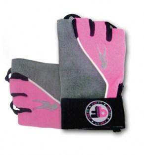 BioTechUSA-PinkFit-Gloves-Grey-Pink