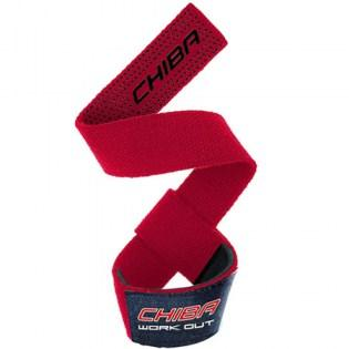 Chiba-40600-Lifting-Straps-Red