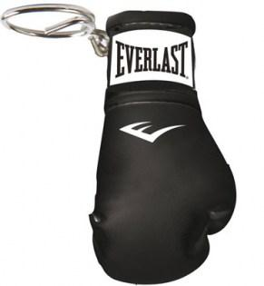 Everlast-Miniature-Boxing-Glove-Key-Ring-Black