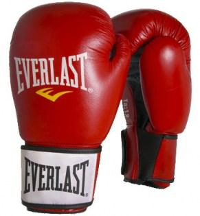 Everlast-Moulded-Foam-Training-Glove-Leather-Red7