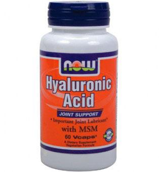 NOW - HYALURONIC ACID 50mg, 60 Vcaps