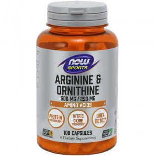 Now-Foods-Arginine-500-Ornithine-250-Capsules