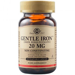 Solgar-Gentle-Iron-20mg-90