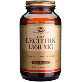 Solgar-Lecithin-1360mg-250-softgels