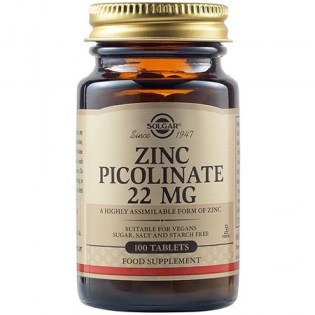 Solgar-Zinc-Picolinate-22mg-100