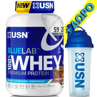 Usn-Blue-Lab-Whey-2000-Plus-Shaker