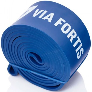Via-Fortis-Resistance-Band-Extra-Strong-Blue
