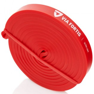 Via-Fortis-Resistance-Band-Ultra-Light-Red