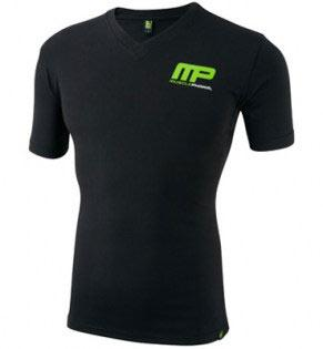 muscle-pharm-v-neck-logo-tee-black
