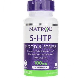 natrol-5htp 45 tablets