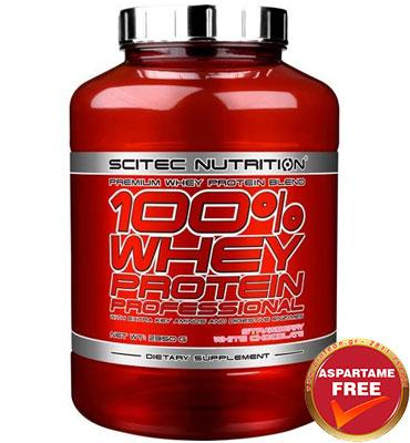 100% Whey Protein Professional 2350 gr Banana + ΔΩΡΟ Scitec Shaker 700 ml